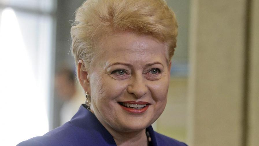 Литовците преизбраха Далия Грибаускайте за президент