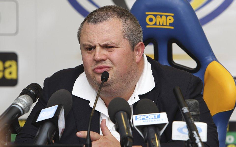 4 години затвор за футболен президент