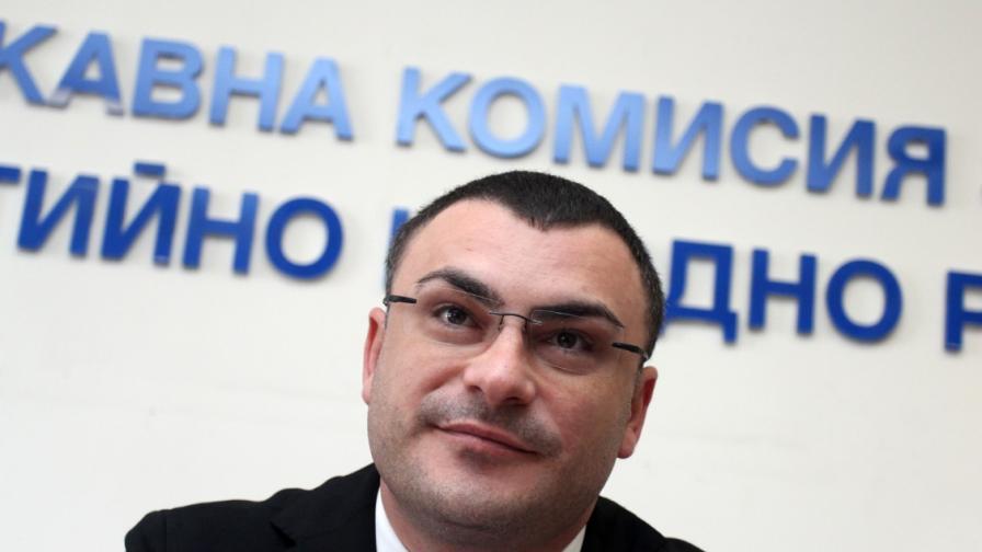 Председателят на ДКЕВР Боян Боев