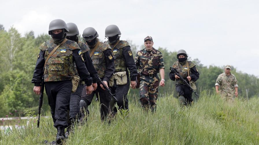 Украинските сили настъпват край Славянск и Луганск