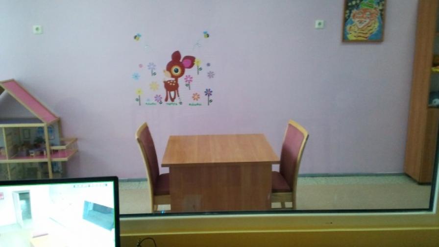"""През 2013 г. в Русе бе открита специална """"Синя стая"""", в която да дават показания деца, станали жертви или свидетели на насилие"""