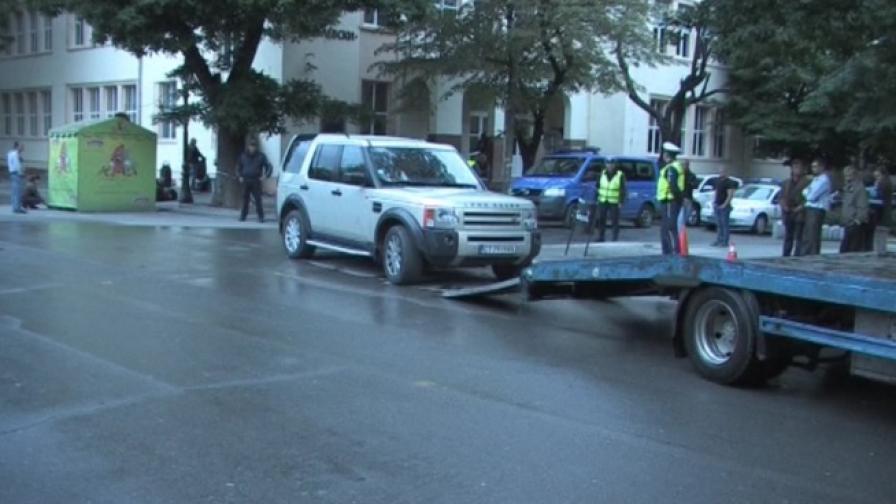Масови нарушения на шофьори на мястото, където загина Паоло