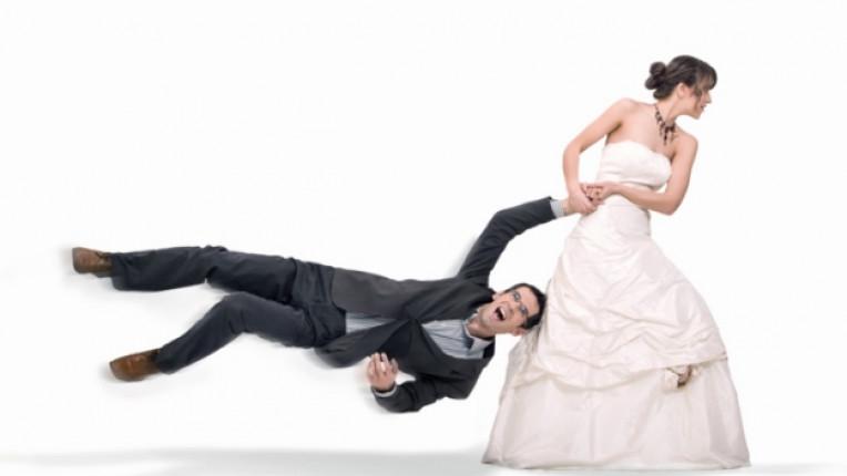 сватба булка младоженец