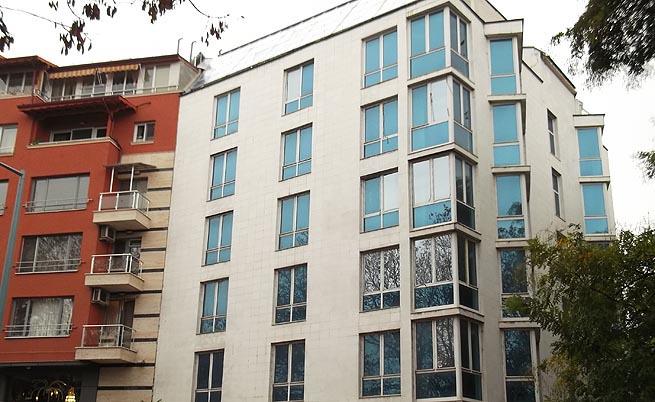 Хотелът на Рашков
