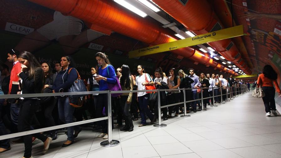 Служителите от метрото в Сао Пауло прекратиха стачката