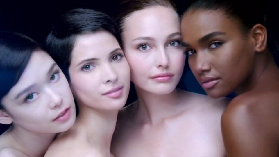 Фокусът на рекламната кампания са лицата на жени от различни етноси. Кожата им показва предимствата на най-иновационния коректор Visionnaire