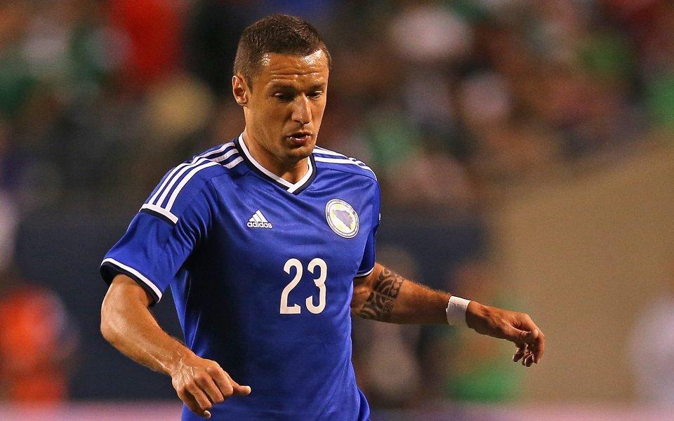 Салихович може да пропусне и мача срещу Нигерия