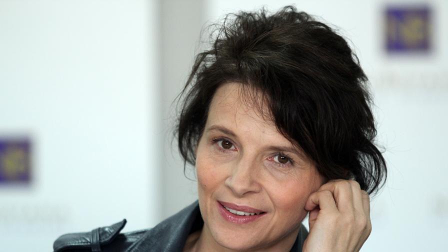 Жулиет Бинош: Буквално се влюбих във вашата страна, в България