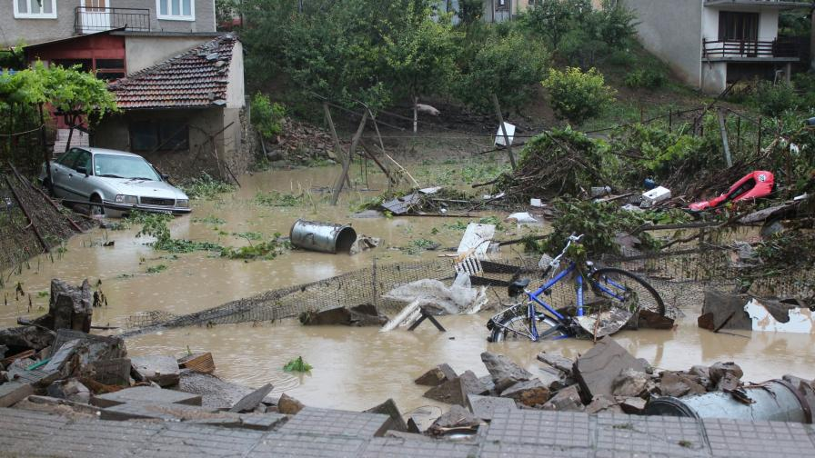 Наводнението в Килифарево