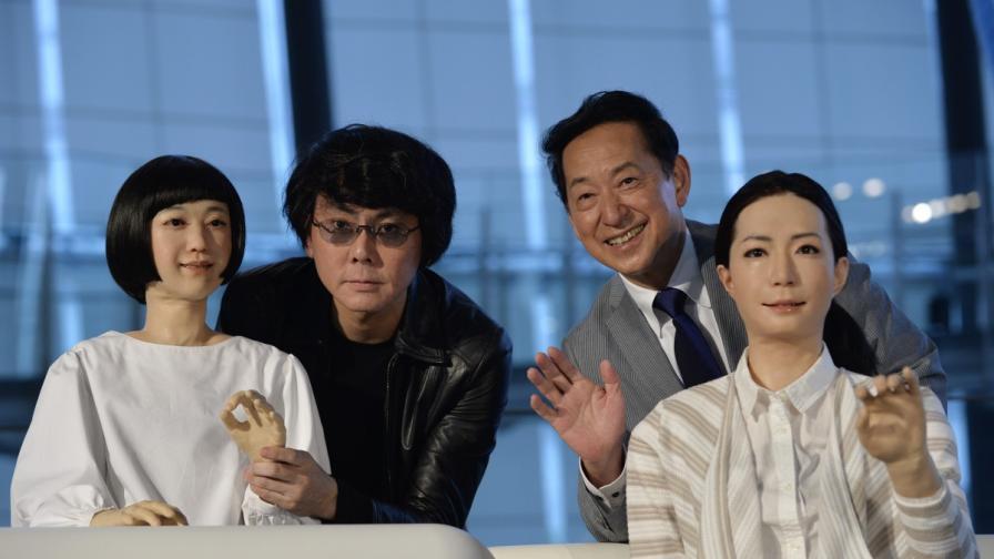 Нови японски роботи изглеждат и говорят като хора