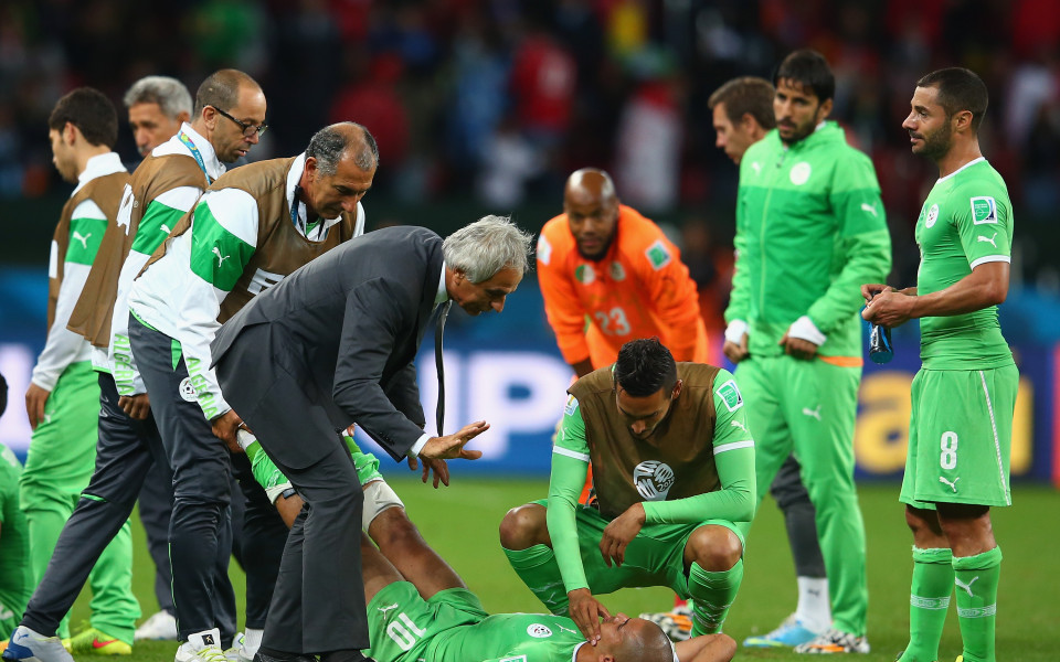 Французин пое националния отбор на Алжир