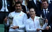Зимонич и Стосър спечелиха титлата на смесени двойки