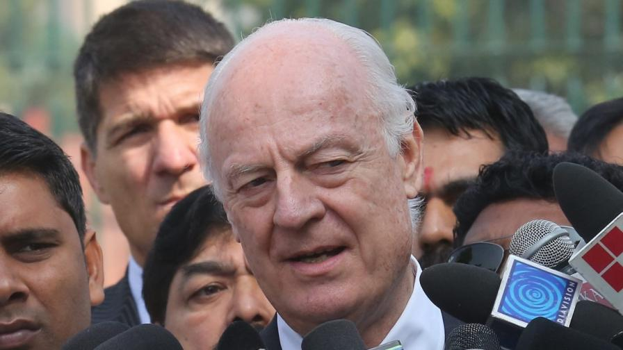Стефан де Мистура е новият посредник на ООН за Сирия