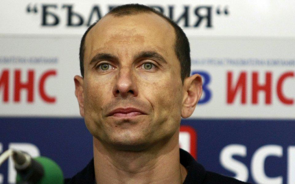 Бившият национален на българия - Мартин Петров сподели първите си