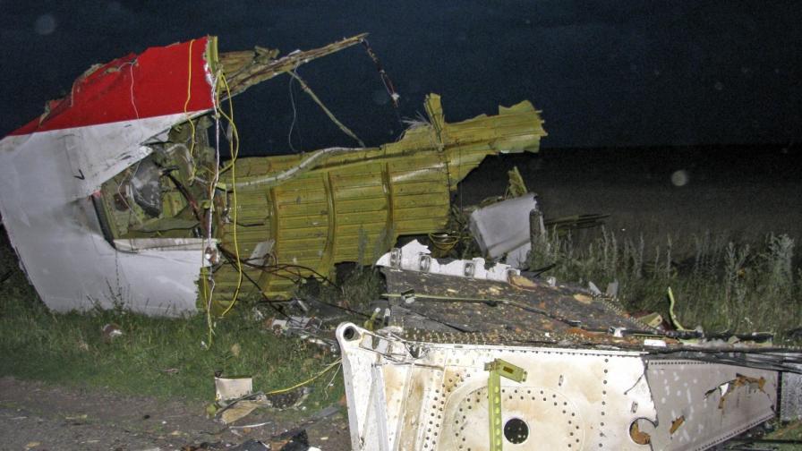 Яценюк: Русия е отговорна за трагедията със самолета