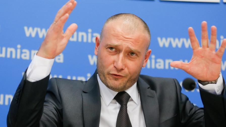 Интерпол обяви Дмитро Ярош за международно издирване