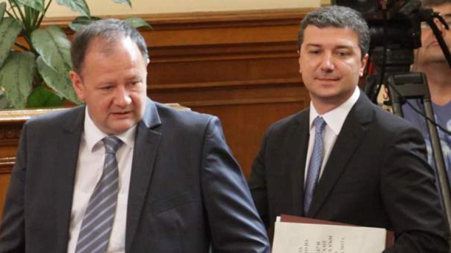 Михаил Миков и Драгомир Стойнев