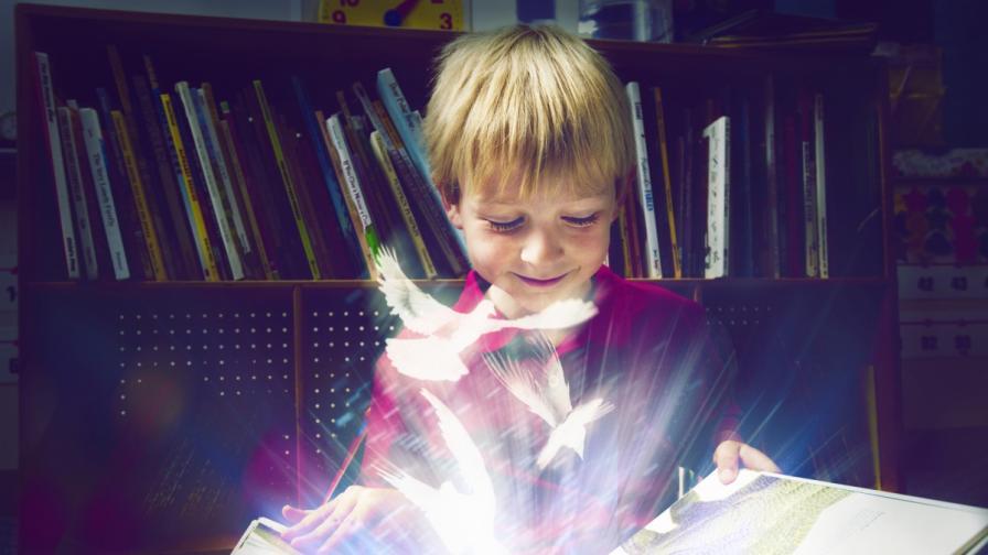 Приказният свят на детската книга
