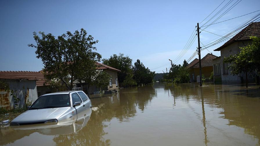Мизия при наводнението