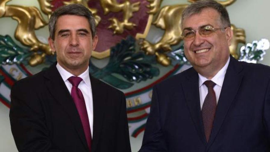 Росен Плевнелиев и Георги Близнашки