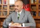 Албанският премиер Еди Рама