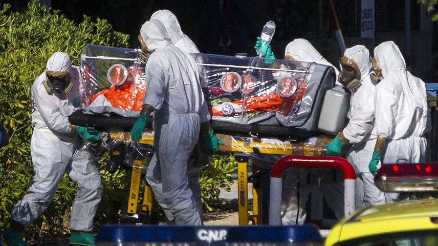 И Испания прибра свой гражданин, заразен с ебола
