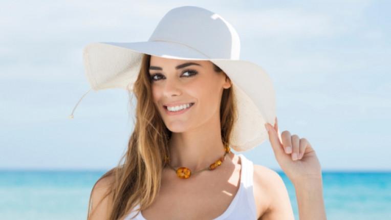 слънце защита лице кожа лято