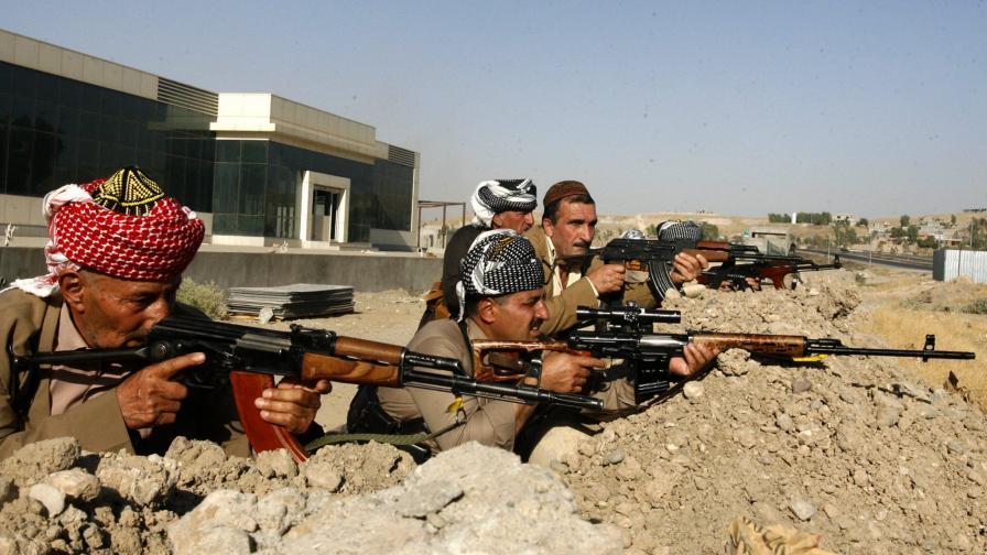 САЩ доставяли оръжия на кюрдите в Ирак