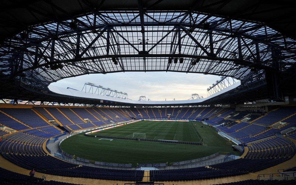 Стадионът в Харков иска Суперкупата на Европа