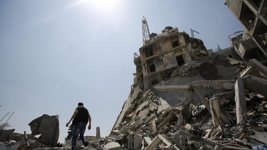 Рияд дава 580 млн. долара за възстановяване на ивицата Газа
