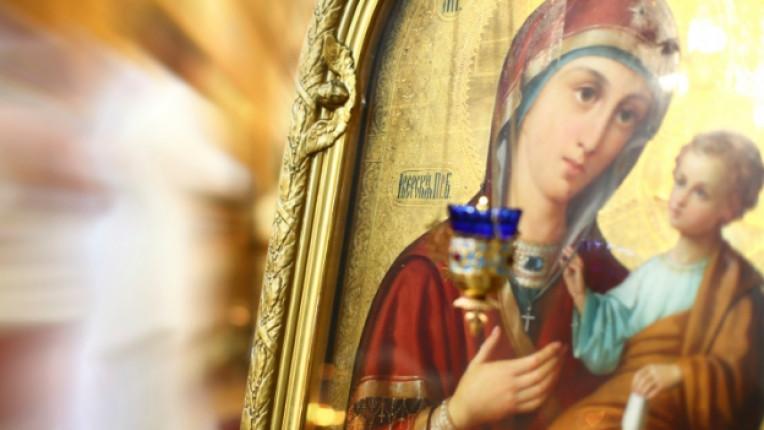 дева мария икона църква християнство