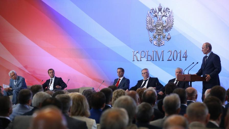 Владимир Путин в Крим