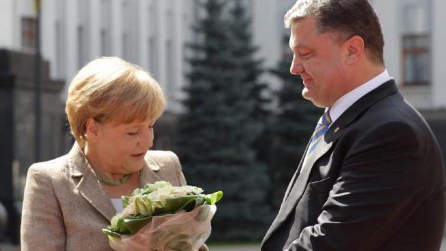 Германия обеща финансова подкрепа на Украйна