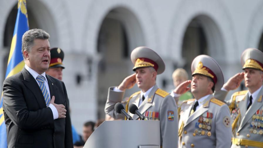 Украйна празнува независимостта си