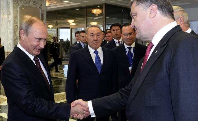 Порошенко и Путин се разбрали за спиране на огъня в Източна Украйна