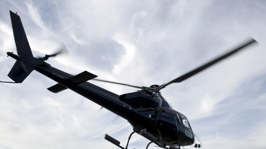 Наркотрафиканти стреляха срещу хеликоптери на полицията в Албания