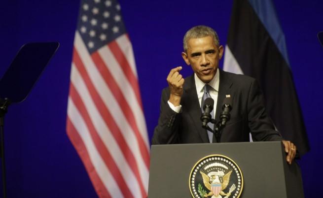 "Обама: Русия да спре ""да се преструва"", че не контролира сепаратистите"