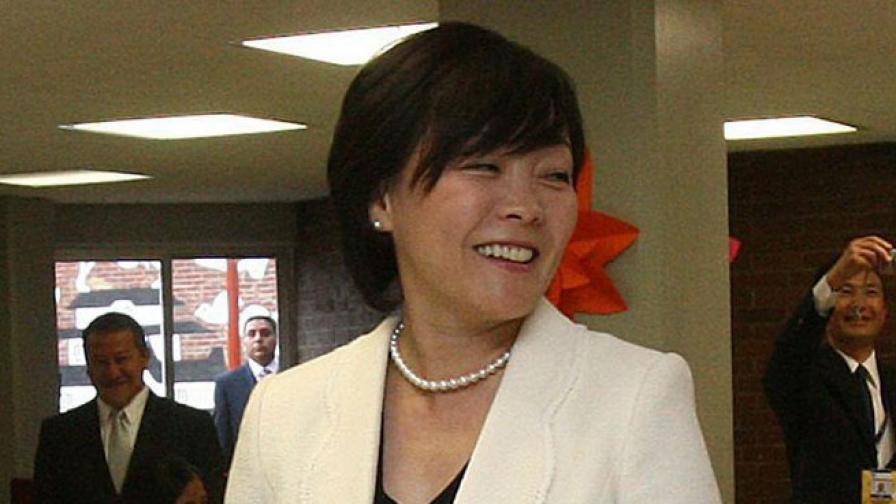 Съпругата на премиера на Япония открито за семейството и ежедневието