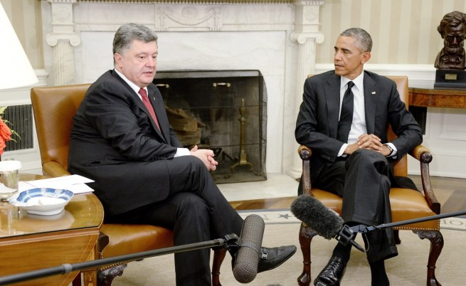"""Порошенко: Не сме кандидатствали в НАТО """"от учтивост"""""""
