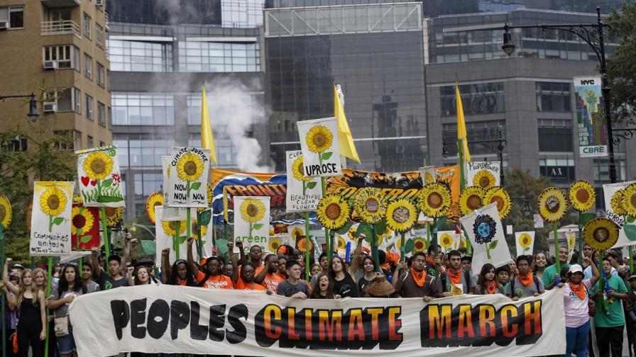 Хиляди поискаха действия срещу климатичните промени