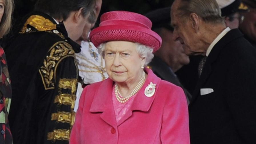Британската кралица Елизабет II