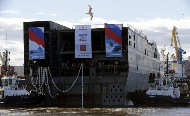 """Русия можела сама да си построи корабите клас """"Мистрал"""""""