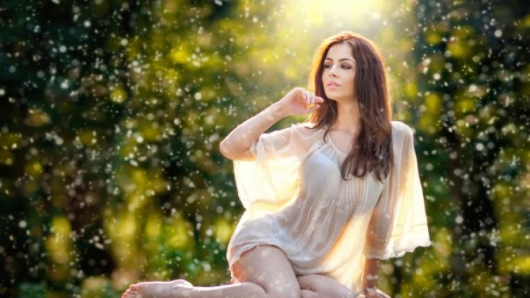 жена вълшебство магия природа