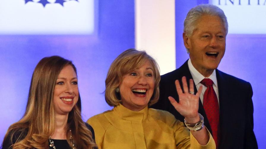 Бил Клинтън стана дядо