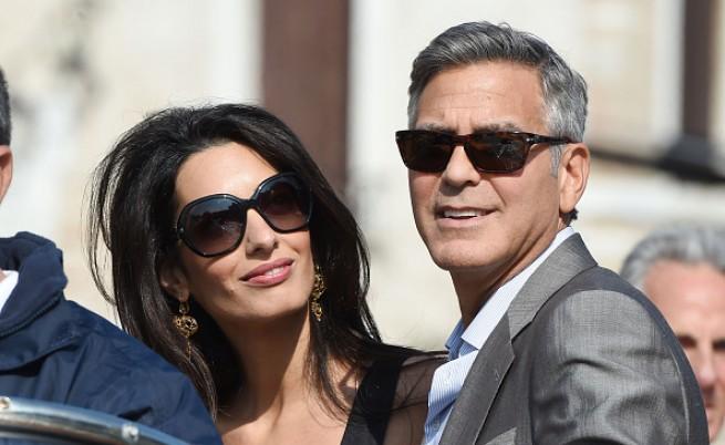 """Джордж Клуни казва """"сбогом"""" на ергенския живот"""