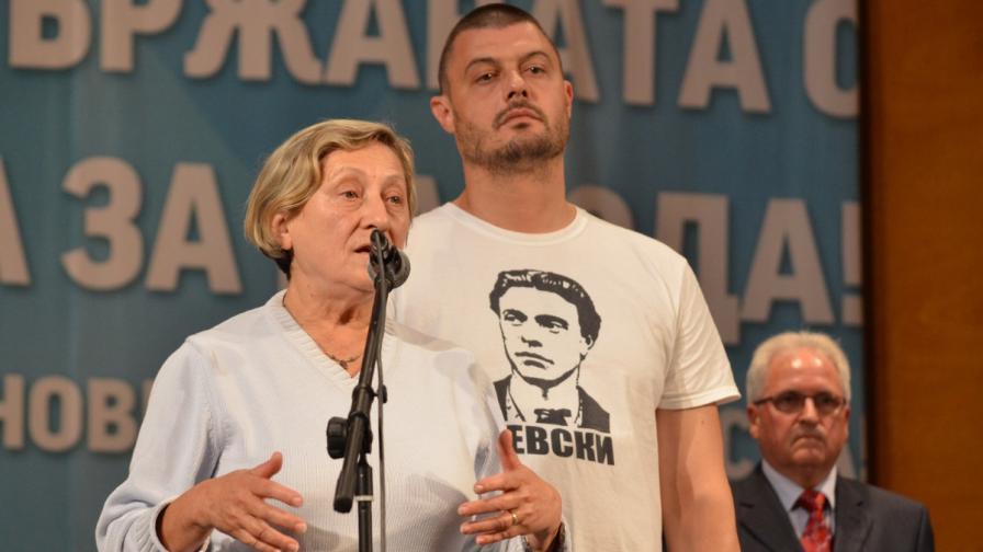 Нешка Робева и Николай Бареков на събитие от кампанията на ББЦ