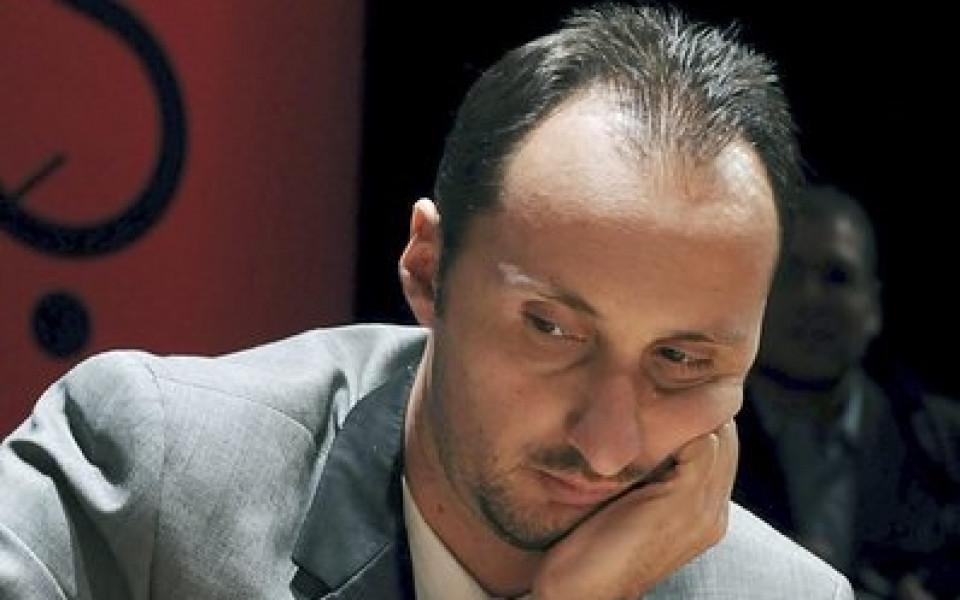 Три поражения за Топалов в Париж