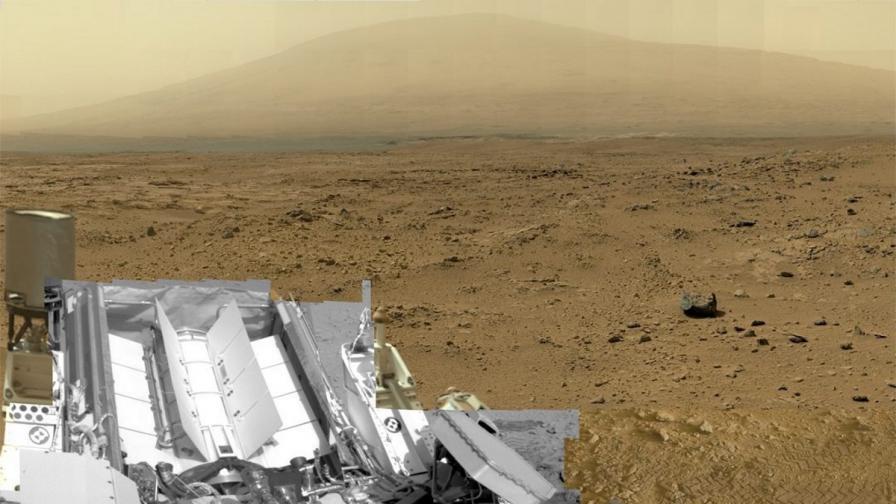 Ветровете на Марс променят дюните