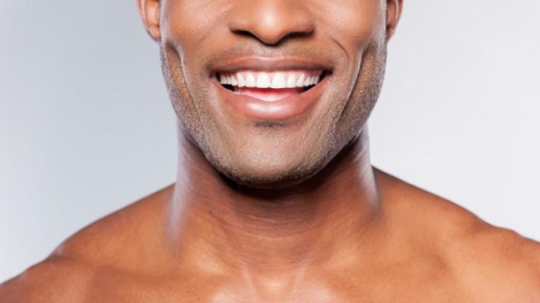 мъж секси сексапилен усмивка