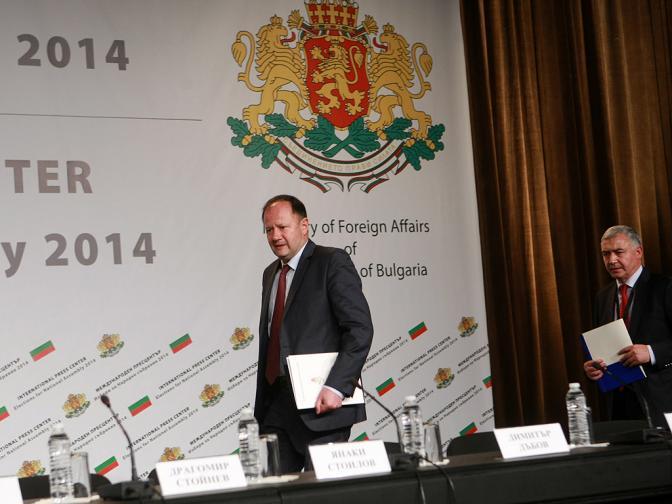 Парламентарни избори 2014 Пресконференция на БСП